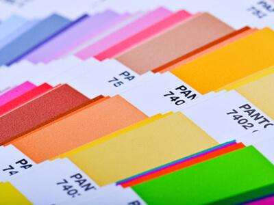 Steunkleuren Pantone kleurenwaaier